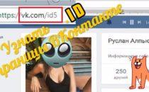 Узнать ID страницы Вконтакте — Если вместо него ник